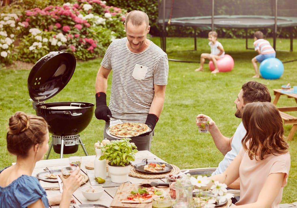 Barbecue jardin maison