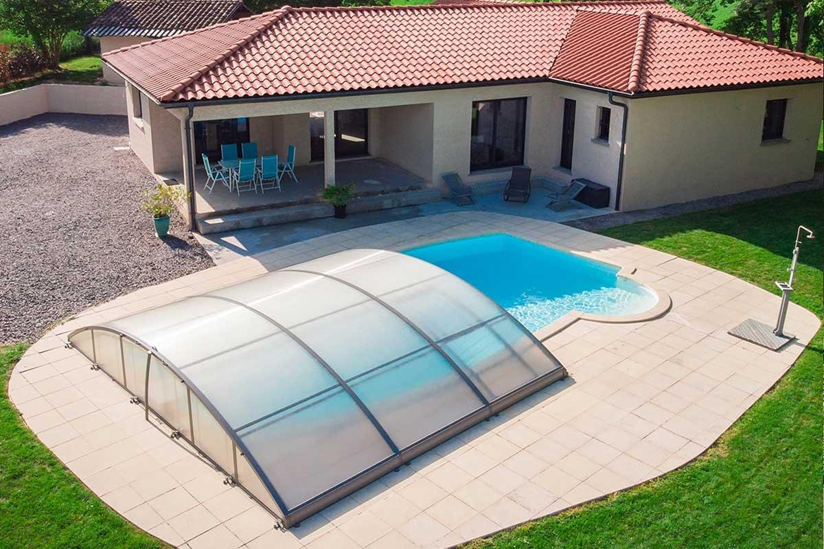 Maisons neuve avec piscine enterrée