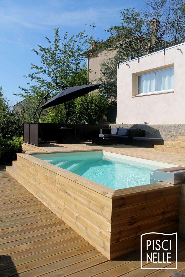 Maisons neuve avec piscine hors-sol