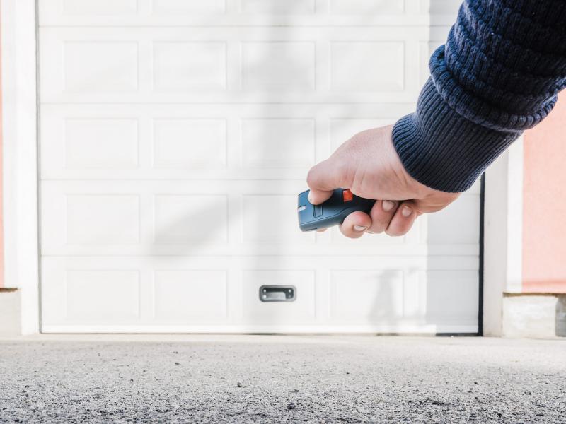 Porte automatique garage avec télécommande